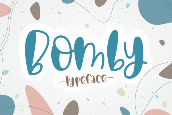 Print on Demand: Bomby Display Font By Dani (7NTypes)