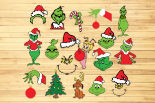 Print on Demand: Christmas Bundle, Svg, Png, Dxf, Eps. Graphic Crafts By LightBoxGoodMan