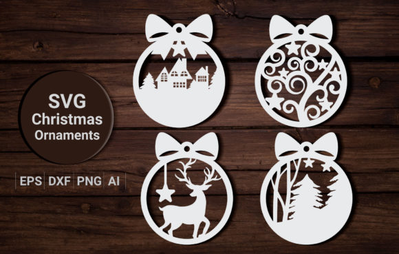 Christmas Ornament | Svg Cut Files Graphic Crafts By artdee2554