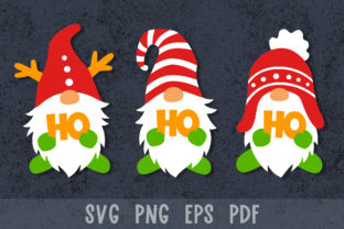 Christmas Gnomes Graphic Crafts By GreenWolf Art