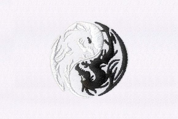 Dragons Embroidery