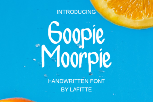 Print on Demand: Geopie Moorpie Script & Handwritten Font By lafitte 58