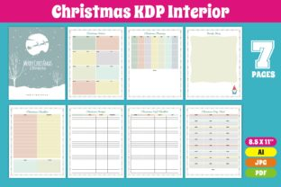 Print on Demand: KDP Interior Christmas Checklist Graphic KDP Interiors By edywiyonopp