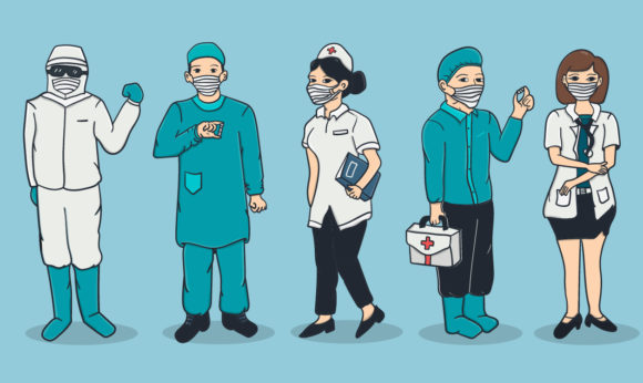 Medical Character Graphic