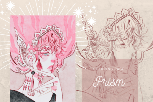Print on Demand: Prism Lineart Digistamp Coloring Page Graphic Coloring Pages & Books Adults By meisanmui