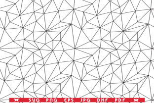 Grid of Triangles, Seamless Pattern Graphic Print Templates By DesignStudioRM
