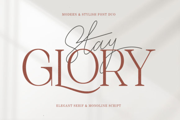 Print on Demand: Stay Glory Script & Handwritten Font By letterfreshstudio