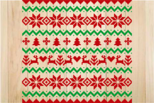 Print on Demand: Ugly Christmas Sweater Design Graphic Crafts By yulnniya