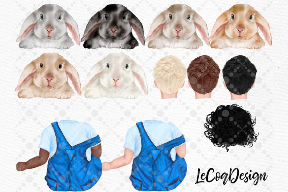 Watercolor Bunny Clipart Rabbit Png Kids Graphic Design