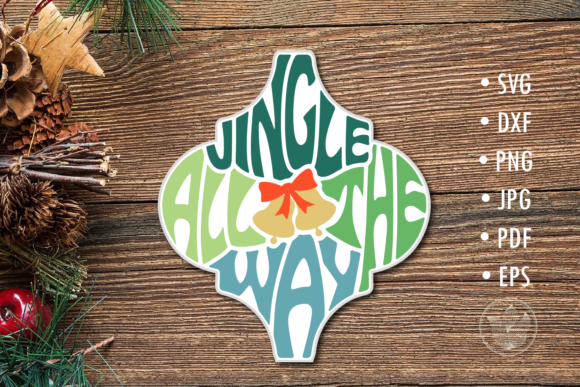 Arabesque Tile Svg Jingle All the Way Le Graphic Crafts By PrettyDD