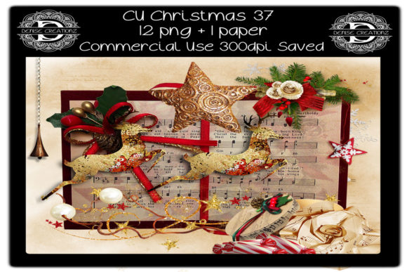 CU Christmas 37 Graphic Crafts By Denise Creationz