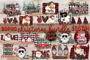 Christmas Sublimation Bundle Graphic Graphic Print Templates By riryndesign