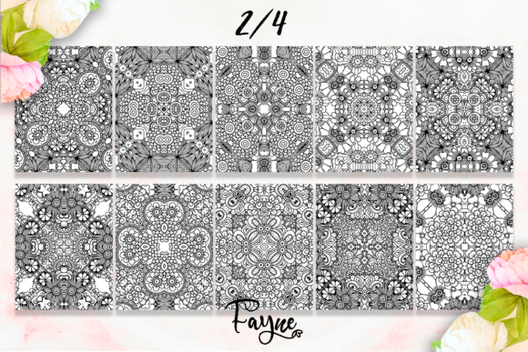 Mandala Coloring Pages Pack 07 KDP Graphic Download