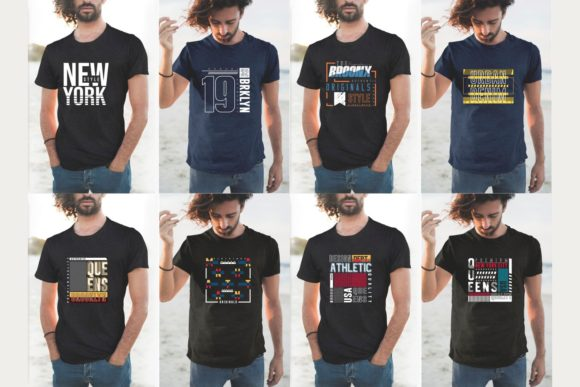 Urban Street T-shirt Design Bundle Graphic Graphic