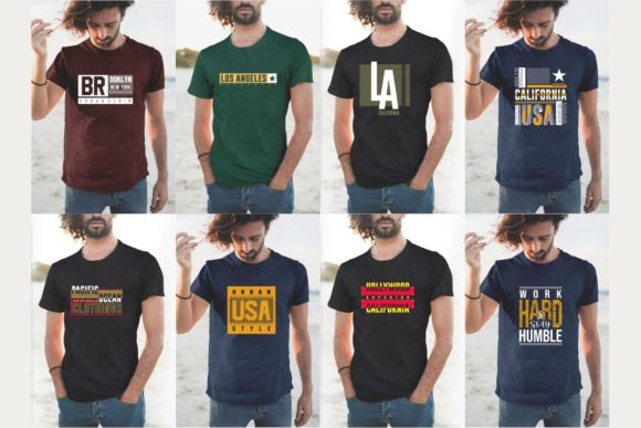 Urban Street T-shirt Design Bundle Graphic Design Item