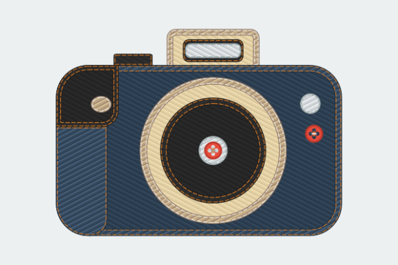 Jeans Denim Style Camera Illustration Graphic Objects By faqeeh
