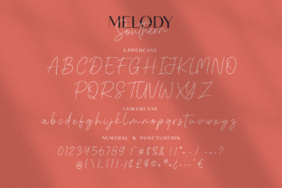 Print on Demand: Melody Southern Duo Sans Serif Font By Suby Studio 9