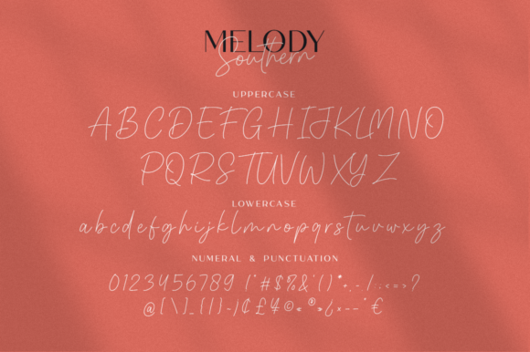 Melody Southern Duo Font Popular Design