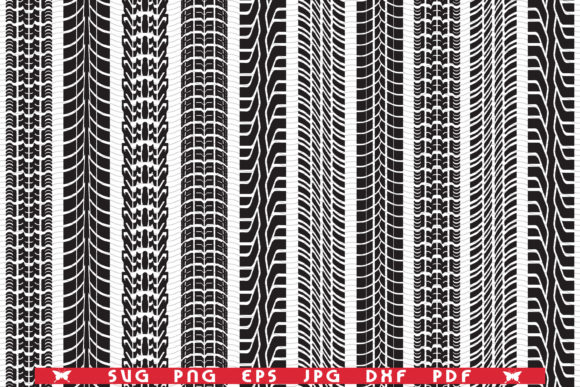Tread of Cars, Prints, Seamless Graphic Patterns By DesignStudioRM