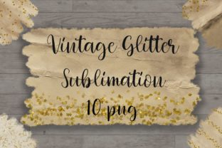 Sublimation Vintage Glitter Background Graphic Backgrounds By PinkPearly