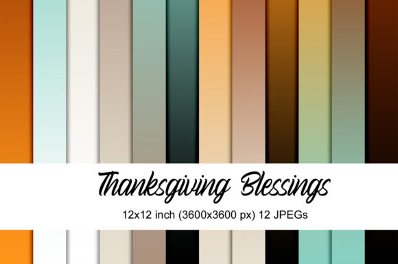 Print on Demand: Thanksgiving Blessings Graphic Patterns By Andrea Kostelic