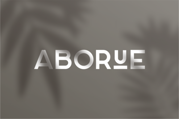 Print on Demand: Aborue Sans Serif Font By shininglabs