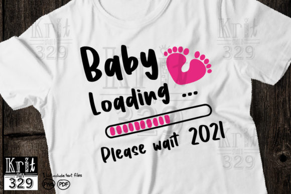 Baby Foot Loading 2021 SVG Graphic Crafts By Krit-Studio329