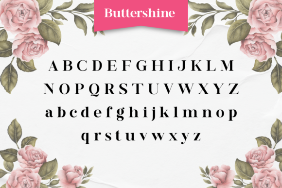 Buttershine Font Popular Design