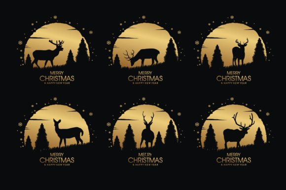Print on Demand: Christmas Deer Creative Crafting Graphic Crafts By edywiyonopp