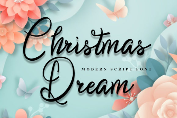 Print on Demand: Christmas Dream Script & Handwritten Font By Inermedia STUDIO