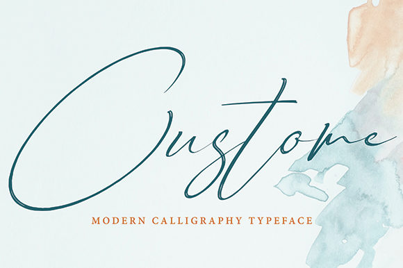 Print on Demand: Custome Script & Handwritten Font By missinklab