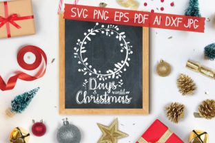 Print on Demand: Days Until Christmas Graphic Crafts By AraySVG