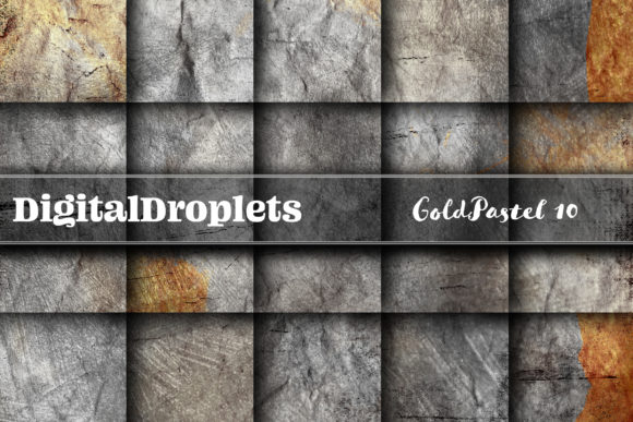Gold Pastel 10 Graphic Backgrounds By digitaldroplets