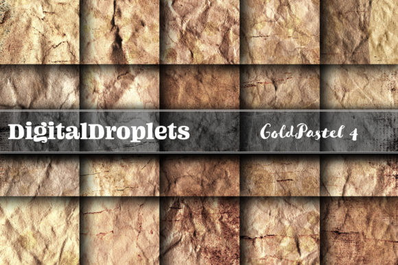 Gold Pastel 4 Graphic Backgrounds By digitaldroplets