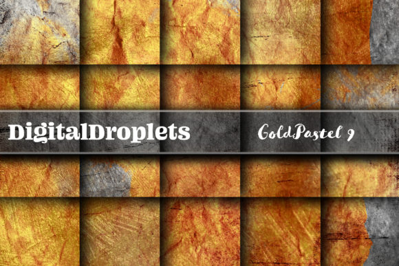 Gold Pastel 9 Graphic Backgrounds By digitaldroplets