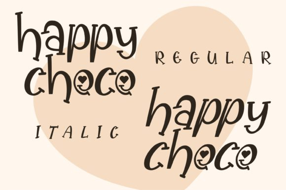 Happy Choco Font Download