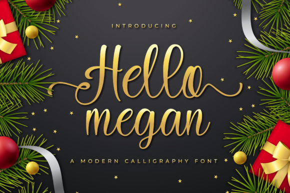 Print on Demand: Hello Megan Script & Handwritten Font By ToniStudio