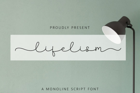 Print on Demand: Lifelism Script & Handwritten Font By Juncreative