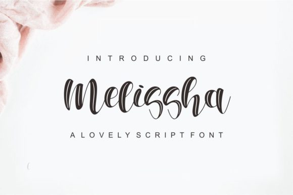 Print on Demand: Melisha Script & Handwritten Font By One Desain