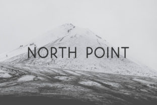 Print on Demand: North Point Sans Serif Font By MoonLake