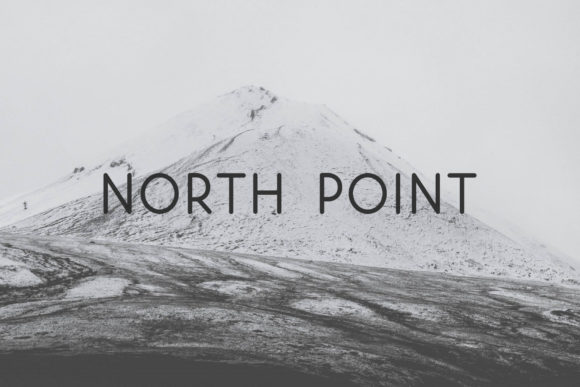 Print on Demand: North Point Sans Serif Schriftarten von MoonLake