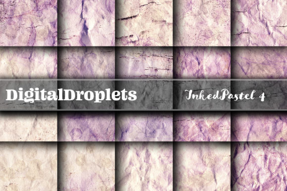 Pastel Inked Parchment 4 Graphic Backgrounds By digitaldroplets