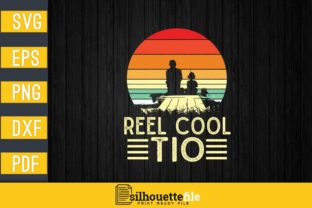 Print on Demand: Reel Cool Tio Graphic Print Templates By Silhouettefile