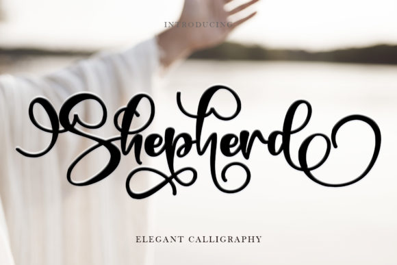 Print on Demand: Shepherd Script & Handwritten Font By thomasaradea