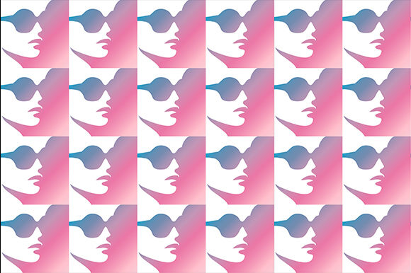 Stylish Woman in Trendy Eyewear Graphic Backgrounds By shawlin