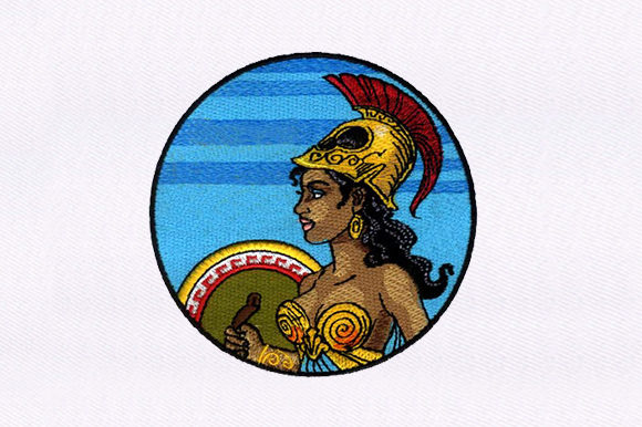Warrior Princess Toys & Games Embroidery Design By DigitEMB