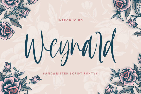 Print on Demand: Weynard Script & Handwritten Font By Typefar