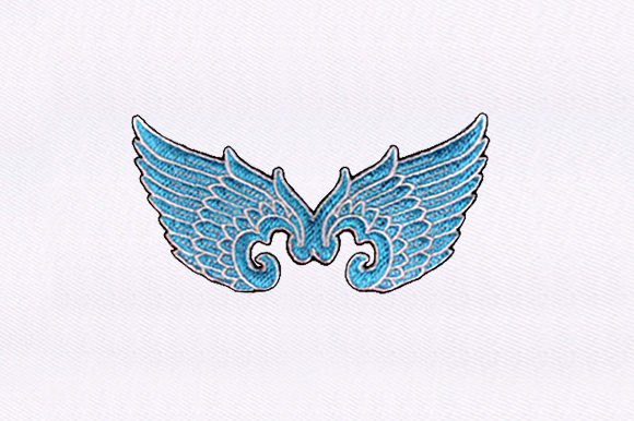 Wing Decal Fairy Tales Embroidery Design By DigitEMB