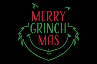 Print on Demand: Christmas Grinch Card Graphic Illustrations By bentestudio