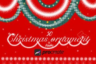 Hristmas Brushes for Procreate Graphic Brushes By liquid amethyst art